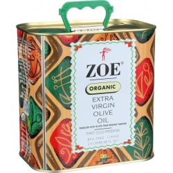 Zoe Cold Pressed Organic Olive Oil