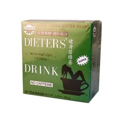 Uncle Lee's China Green Dieters Tea Caffein Free