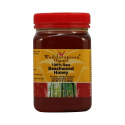 Wedderspoon Organic Raw Beechwood Honey