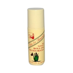 Alvera All Natural Roll-On Deodorant Aloe and Almond