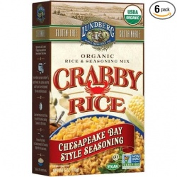 Lundberg Crabby Rice Chesapeake Bay Rice and Seasoning