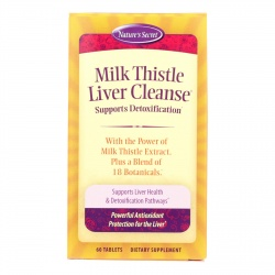 Natures Secret Milk Thistle Liver Cleanse - 60 tabs