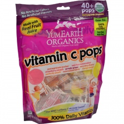 Yummy Earth Organic Vitamin C Lollipop
