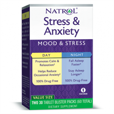 Natrol Stress Anxiety , Day and Night